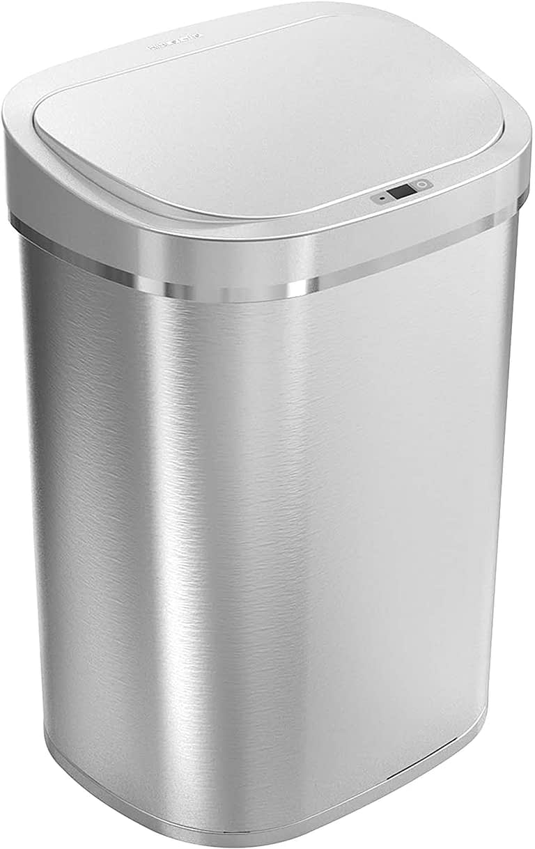 ninestars touchless trash can