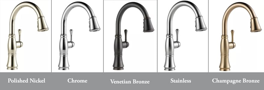 Types of Faucet Materials