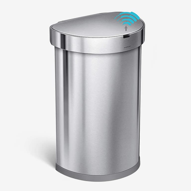 simplehume touchless trash can